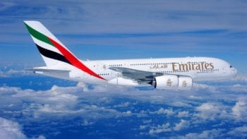 Uber luxury travel onboard the Emirates A380
