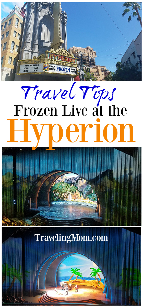 Disneyland tips - Find out what you need to know to make the most of the new must-see show, Frozen Live at the Hyperion.