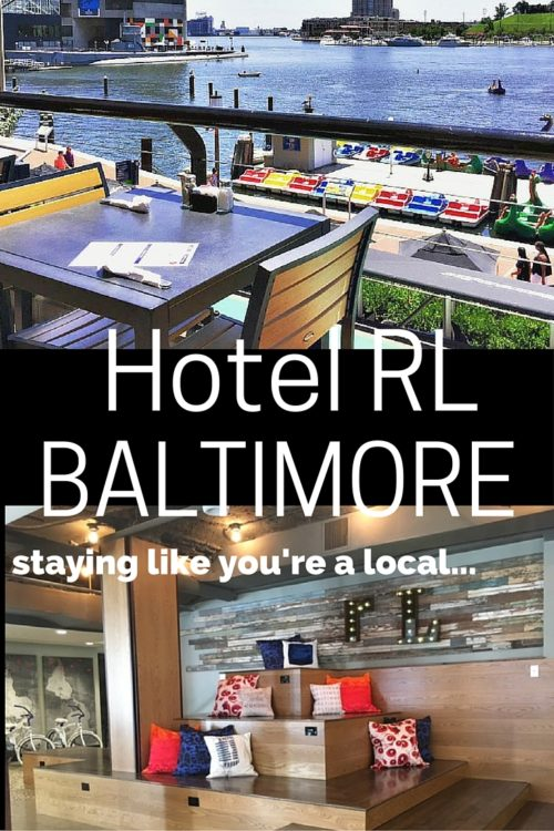 hotel rl baltimore staying like you're a local