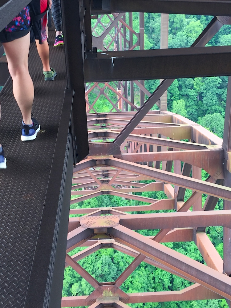 River Bridge Walk over the New River Gorge in West Virginia - TravelingMom