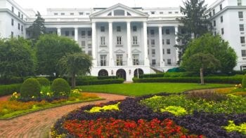 Greenbrier hotel and resort in West Virginia