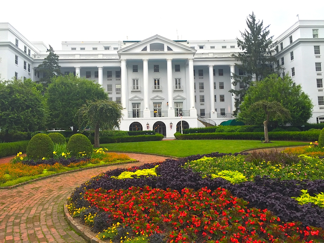 Greenbrier resort in West Virginia