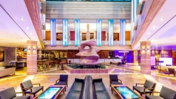 InterContinental Miami Family Friendly Luxury Lobby-Traveling Mom