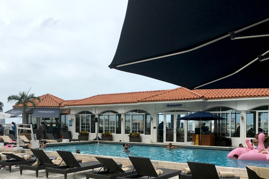 InterContinental Miami Family Friendly Luxury Pool-Traveling Mom