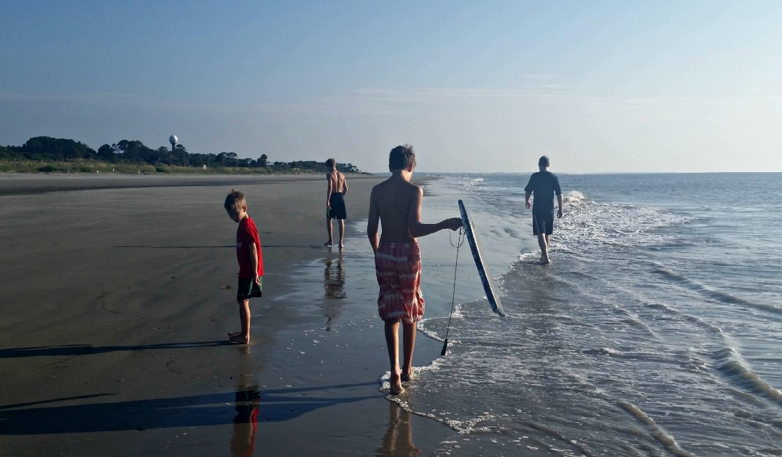 Start your day on Jekyll island with a walk on Great Dunes Beach