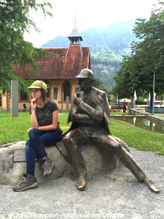 Sherlock Holmes fangirl visits the Reichenbach Falls in Switzerland, the scene of her hero's demise. Fans of the book - and the show - will love this tour.