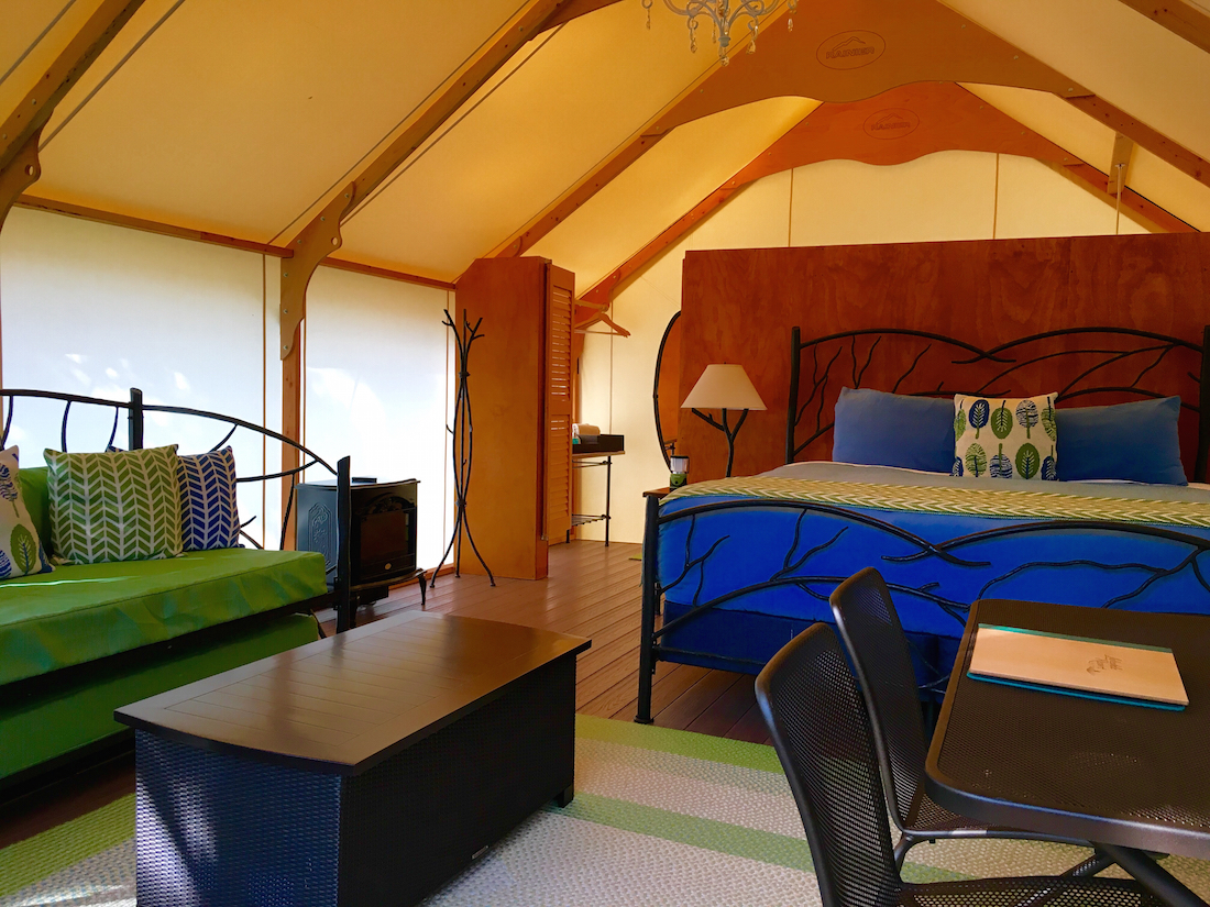 Glamping, San Juan Islands with kids, Lakedale Resort,