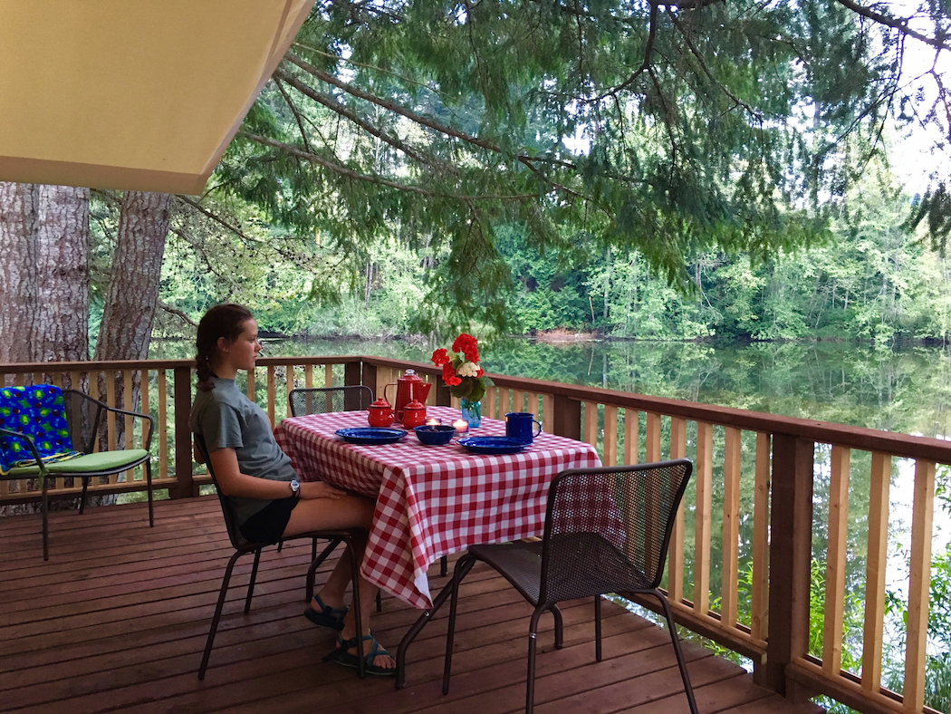 glamping, San Juan Islands for kids, Lakedale Resort,