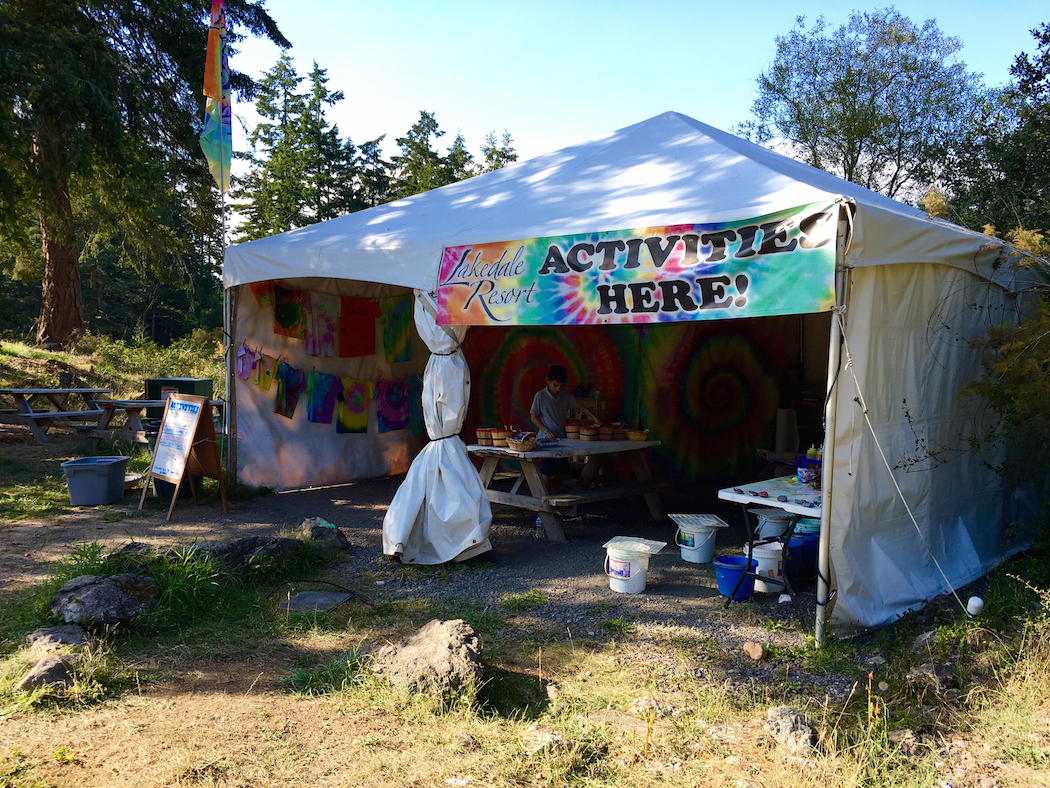 glamping, San Juan Islands for kids, Lakedale Resort