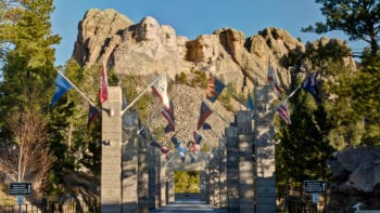 Mount Rushmore National Memorial, South Dakota, Black Hills,