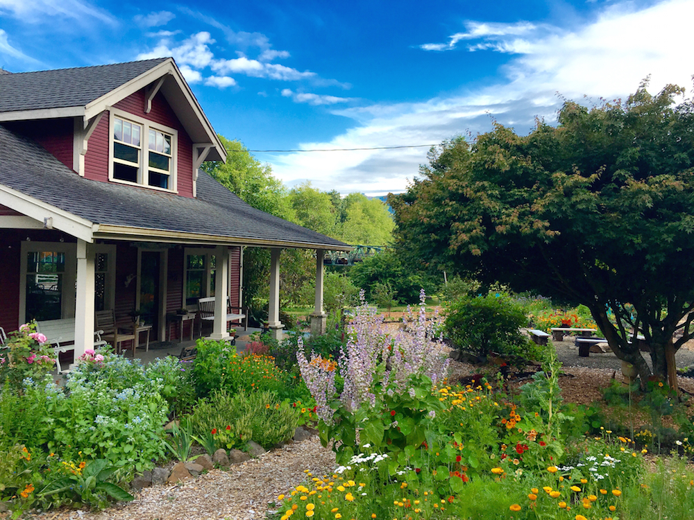 A stay at North Fork 53 in Nehalem, Oregon, a farm-to-table bed and breakfast, offers foodie tours of the on-site three-acre organic farm.