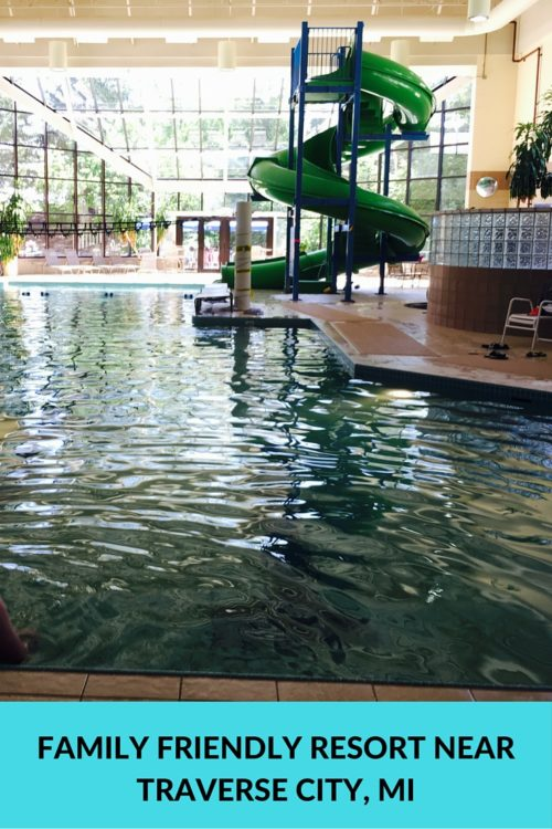 The Grand Traverse Resort and Spa near Traverse City, Michigan, offers great amenities for family vacations. Even with a baby!