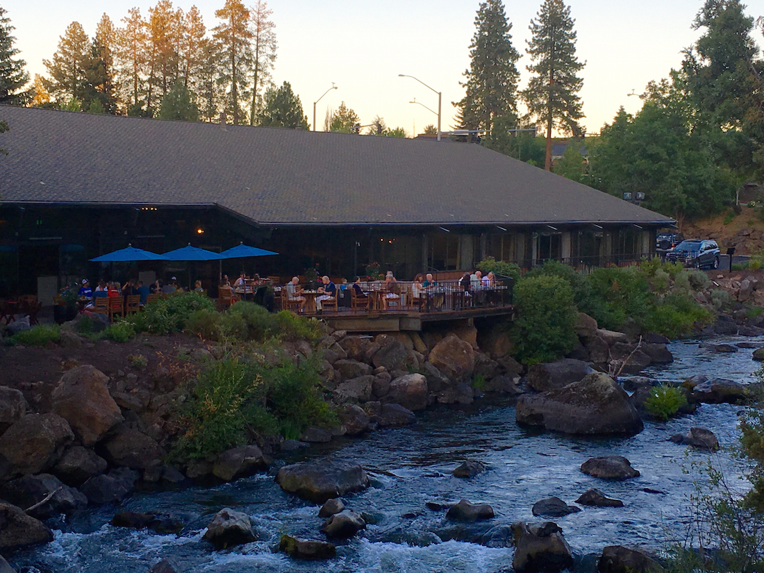 River house on the Deschutes, Bend hotels for families, Oregon,