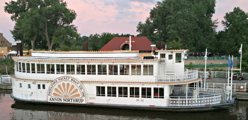 "The Anson Northrup is only one of the paddle boats available for your rides down the river.""Photo Credit Kendra Pierson"