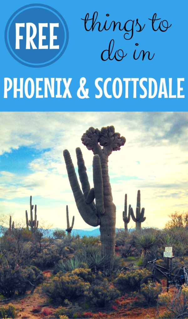 From museums to beautiful desert hikes, find out the best fun free things to do in the Phoenix and Scottsdale, Arizona area for your next vacation.