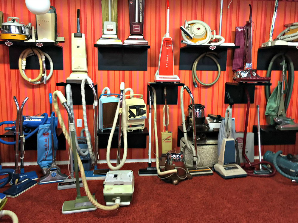 Get sucked in at the Vacuum Cleaner Museum, 1 of 9 not to miss Missouri Museums