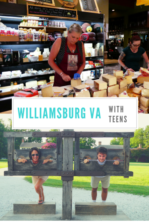 Six things to do in Williamsburg with Teens