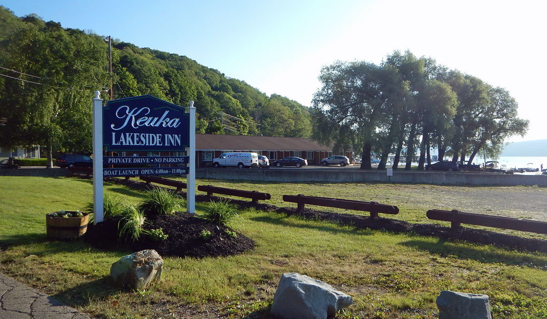 Keuka Lakeside Inn in Hammondsport, NY is a perfect spot to stay for your adventures in the Finger Lakes.