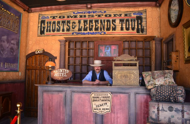 Tombstone Ghost & Legends Tour. Photo Credit: Noreen Kompanik