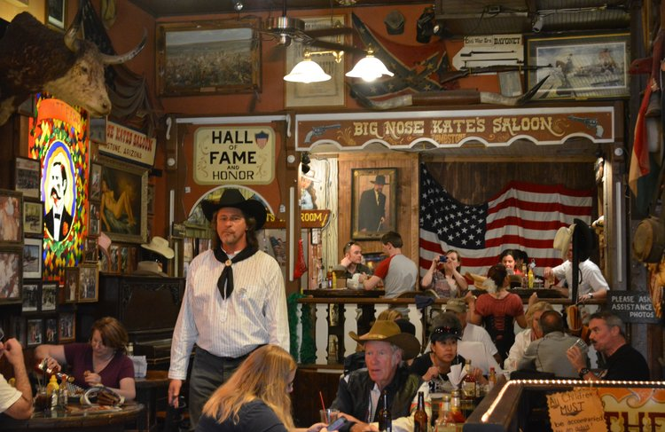 Big Nose Kate's Saloon. Photo Credit: Noreen Kompanik