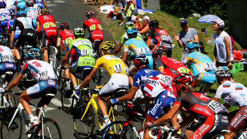 How to watch the Tour de France. Photo by Pixabay.