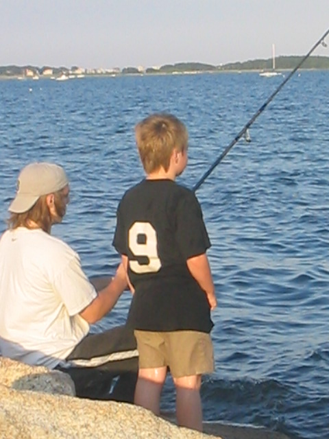 Take a fishing trip during your end of summer travel adventure.