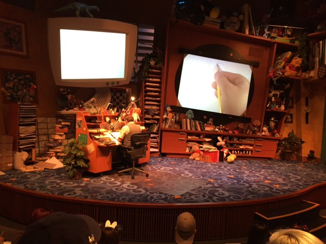 6 Favorite Experiences at Disney California Adventure Animation Academy stage