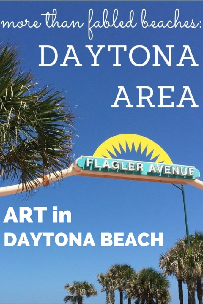 Cultural Heritage TravelingMom discovered specific ways to choose art in Daytona Beach with museums, murals, galleries and arts districts that flow easily inside and out.