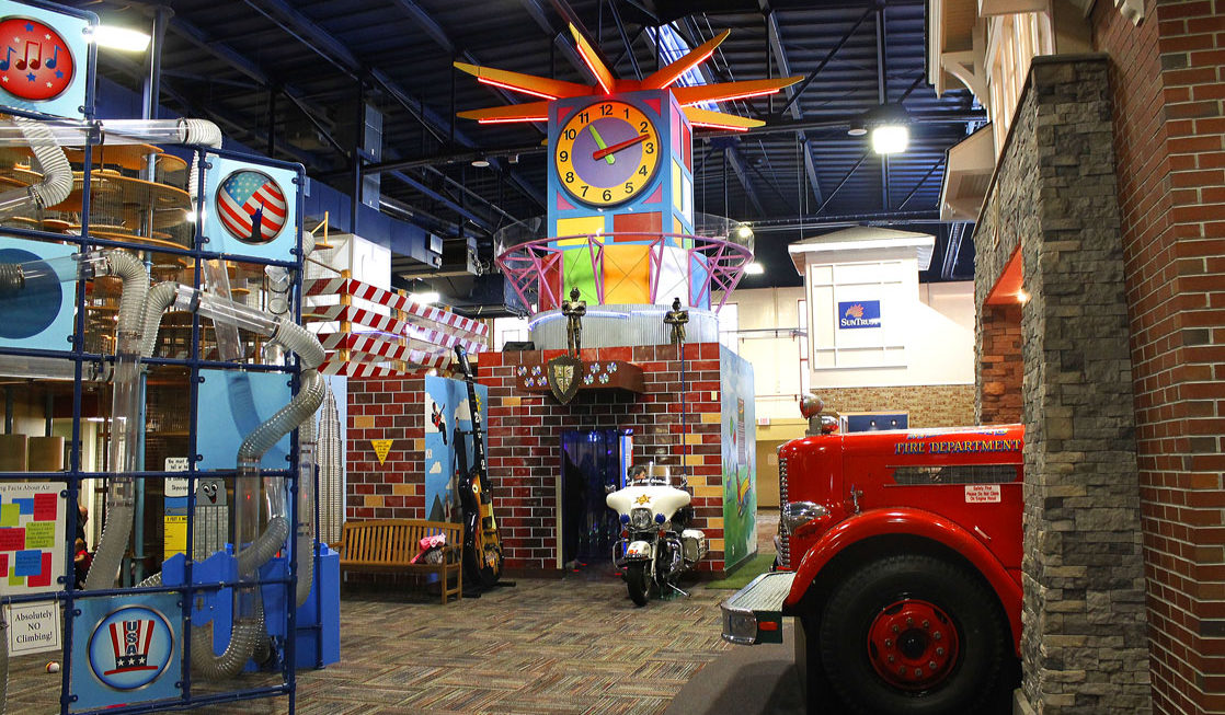 An inside look at the Children's Museum of Memphis. Photo Credit: Sarah Gilliland/Twins Traveling Mom