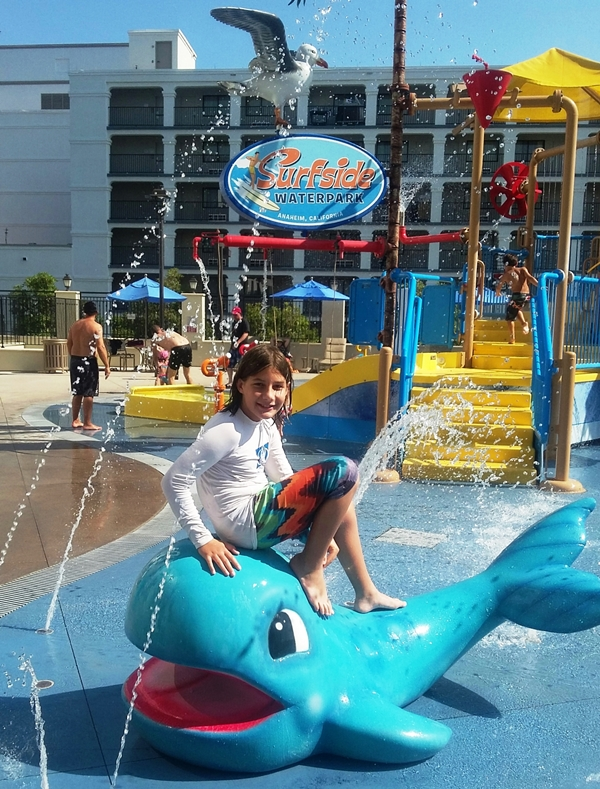 Surfside Waterpark at the Courtyard Anaheim is great for kids.