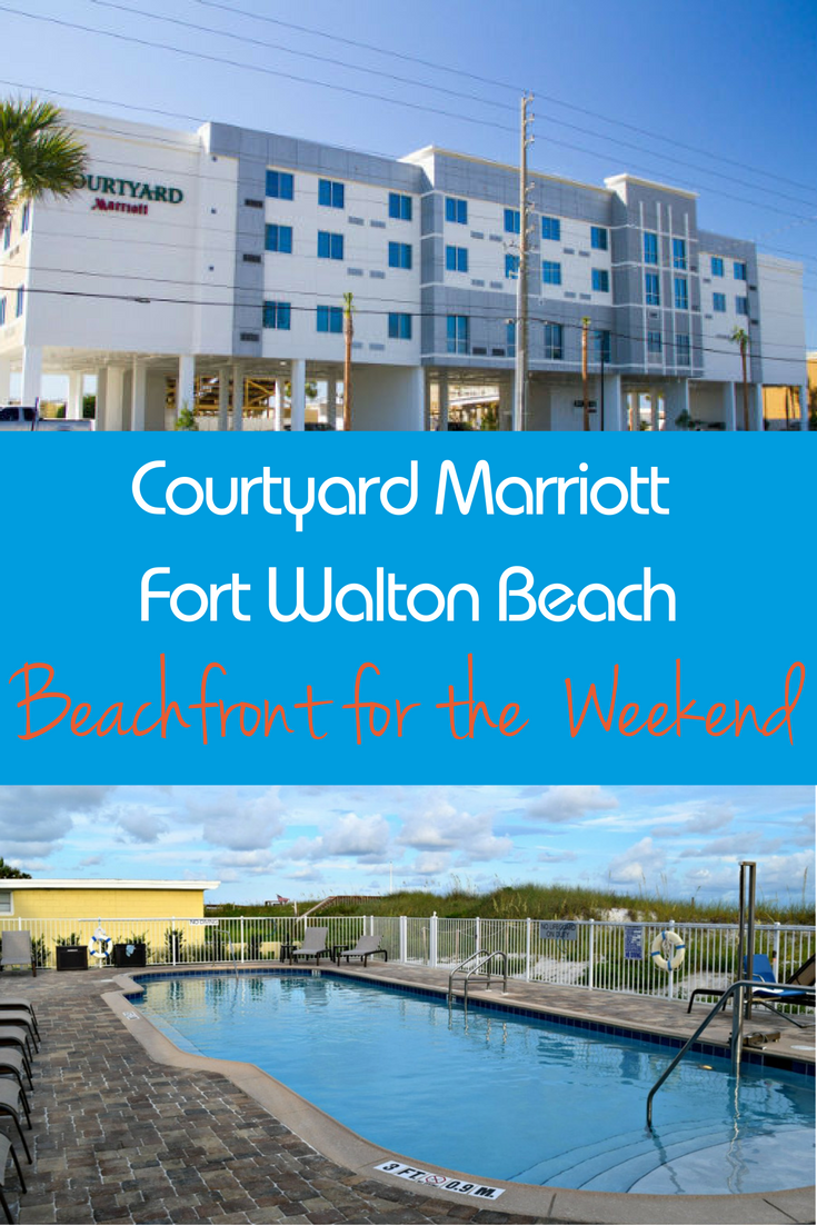 Courtyard Marriott Fort Walton Beach Family Friendly Hotel is the perfect Emerald Coast hotel for the weekend.