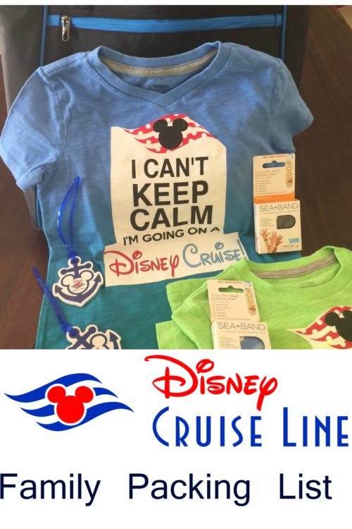 The Ultimate Disney Cruise Family Packing List