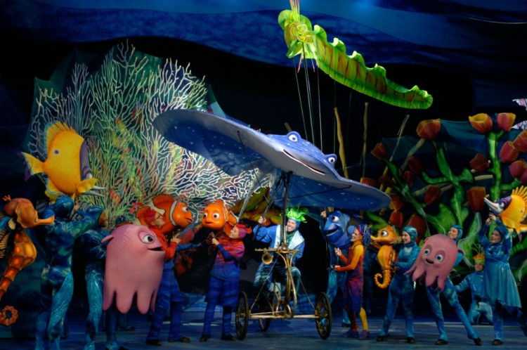 Finding Nemo- The Musical. It's a must-see show in Animal Kingdom at least once.