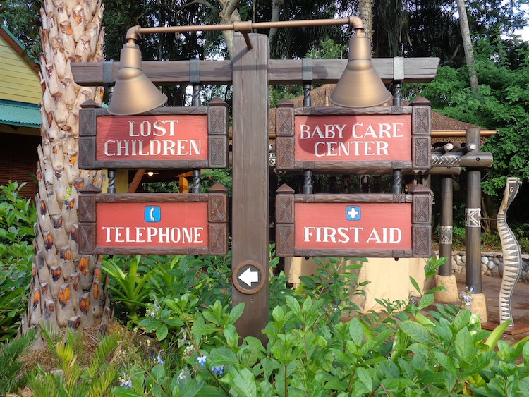 Animal Kingdom first aid station at Disney World - TravelingMom