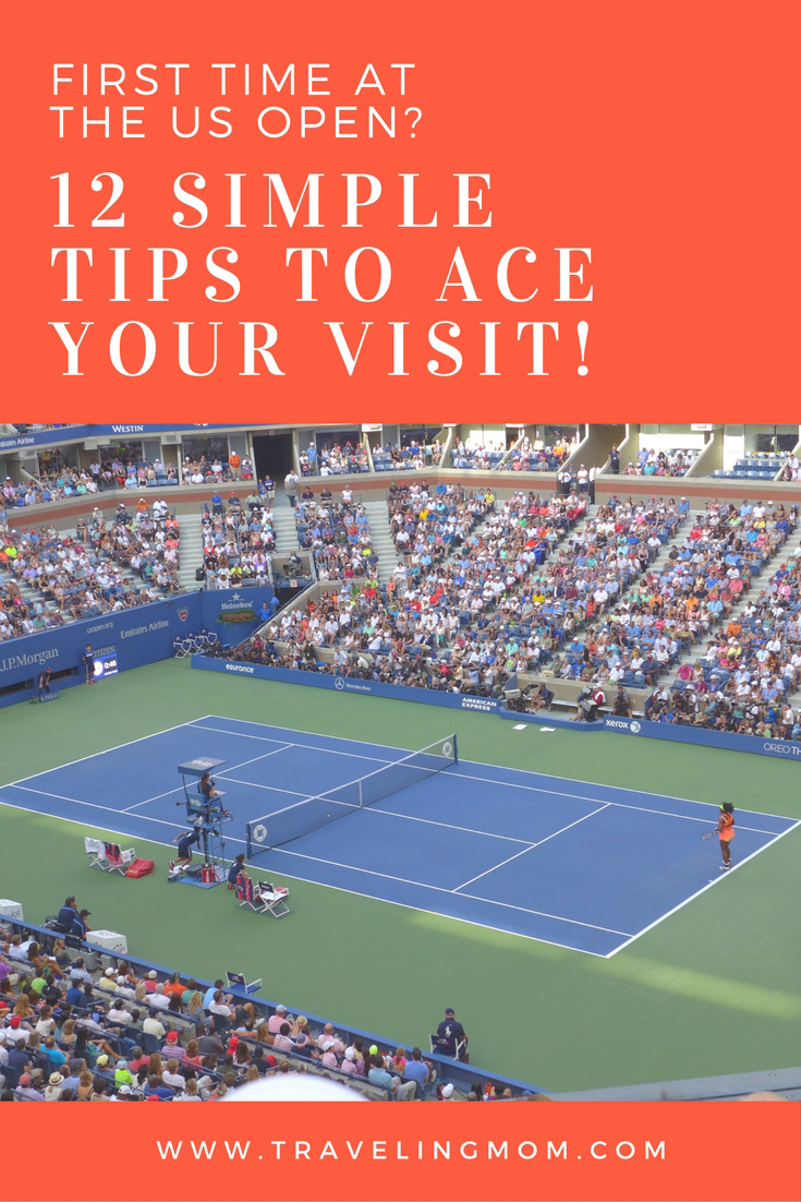 It's hot! It's crowded! It's WONDERFUL! Here's a guide to attending the US Open tennis tournament in NYC, so your first time will be a great time.