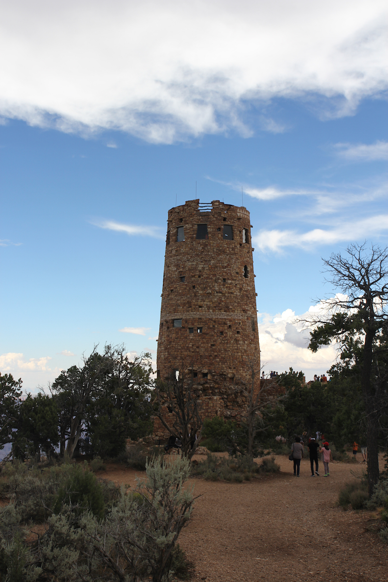 Grand Canyon for kids, Desert Watch Tower, Grand Canyon National Parks with kids,