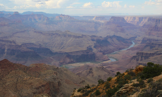 Sizzling Sunsets at Grand Canyon's South Rim