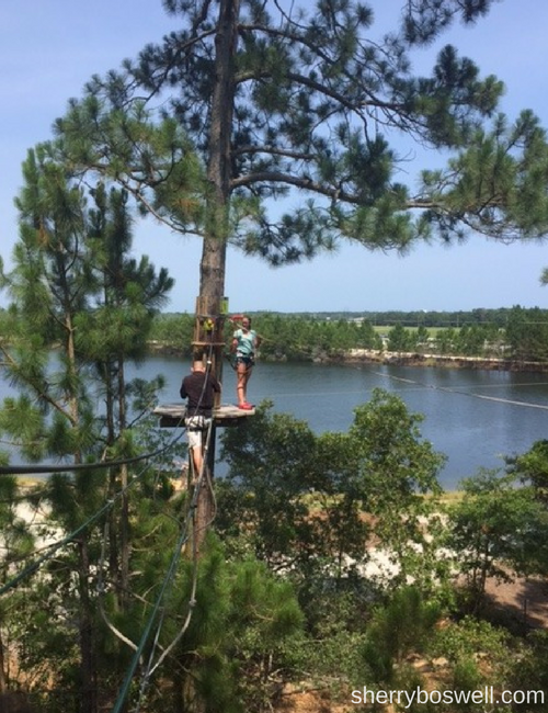 Go Ape Myrtle Beach family fun