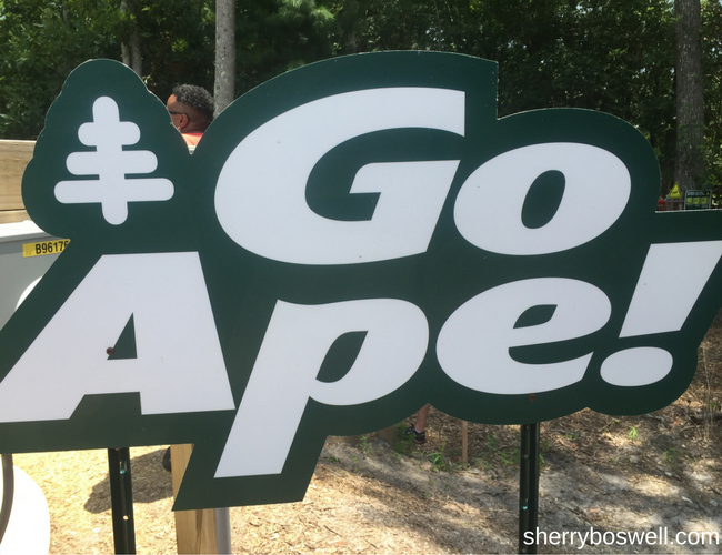 Myrtle Beach Go Ape family fun