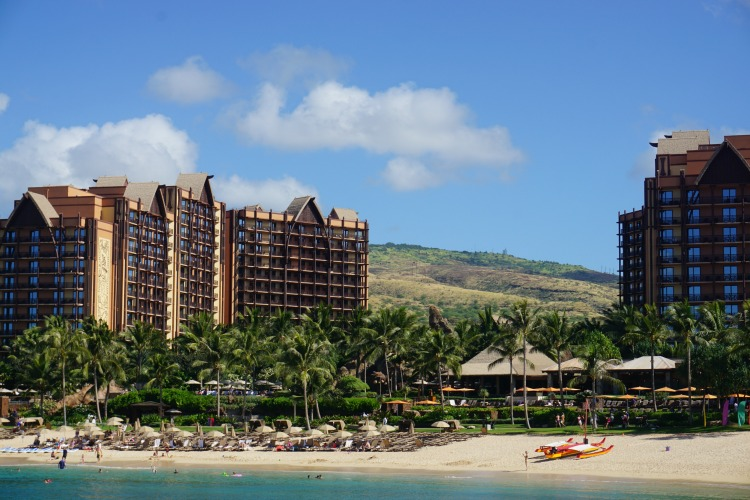 Aulani, a Disney Resort and Spa, is one of the best family resorts in Hawaii. Photo by Multidimensional TravelingMom, Kristi Mehes.