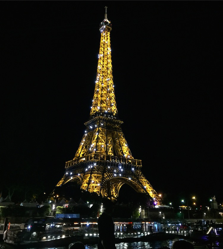 A France river cruise began in Paris