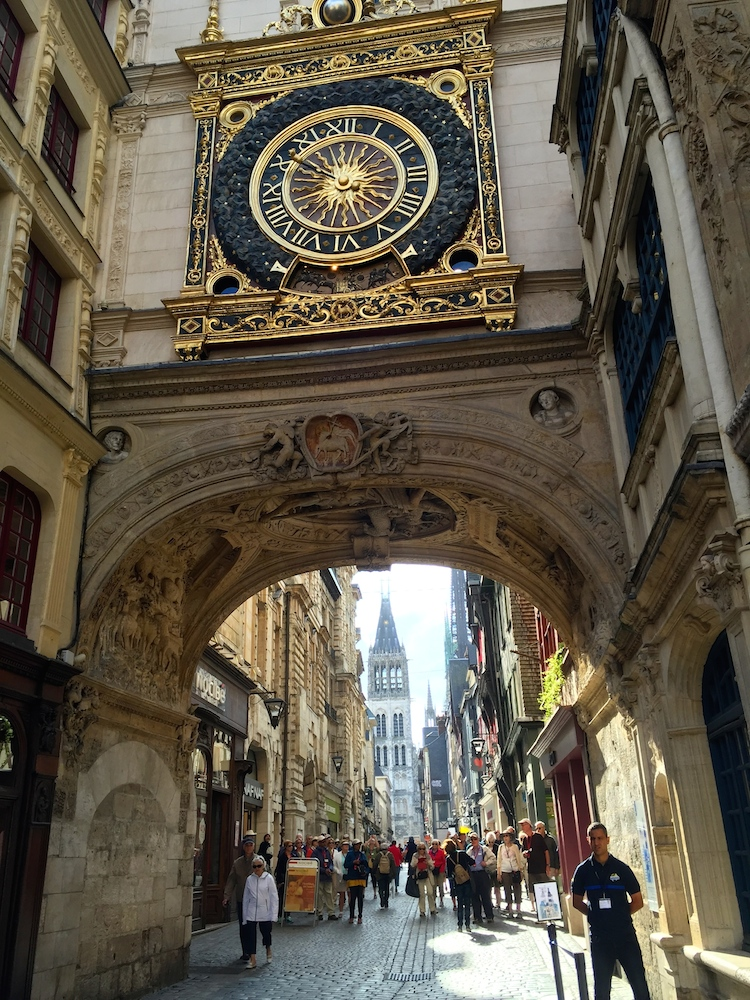 Rouen, France is an excursion from the France river cruise