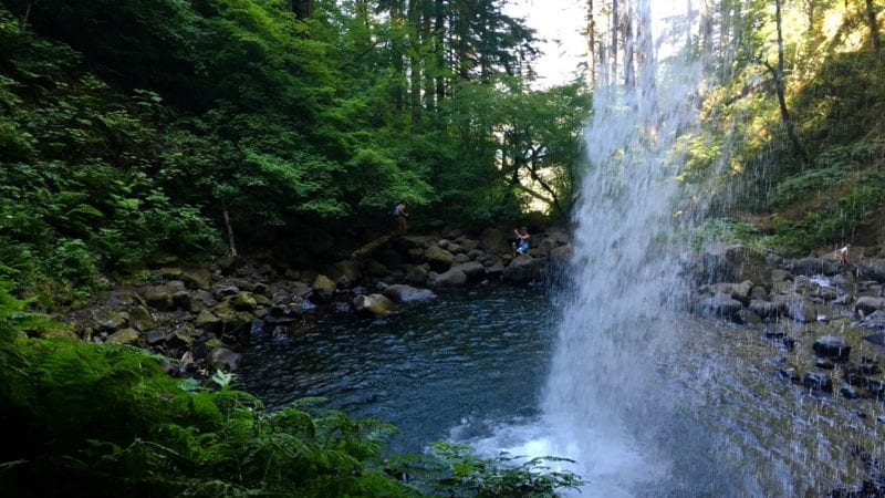 Ponytail Falls, Oregon
