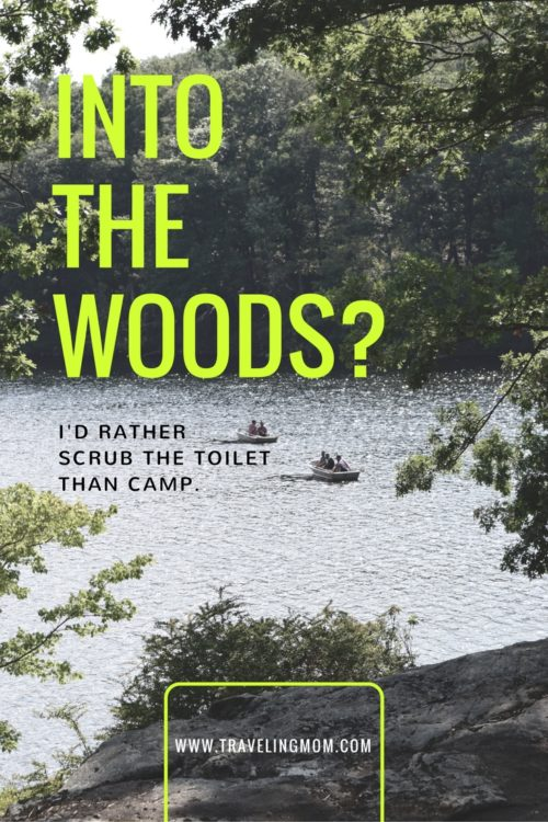 Into the Woods? I'd Rather Scrub the Toilet than Camp.