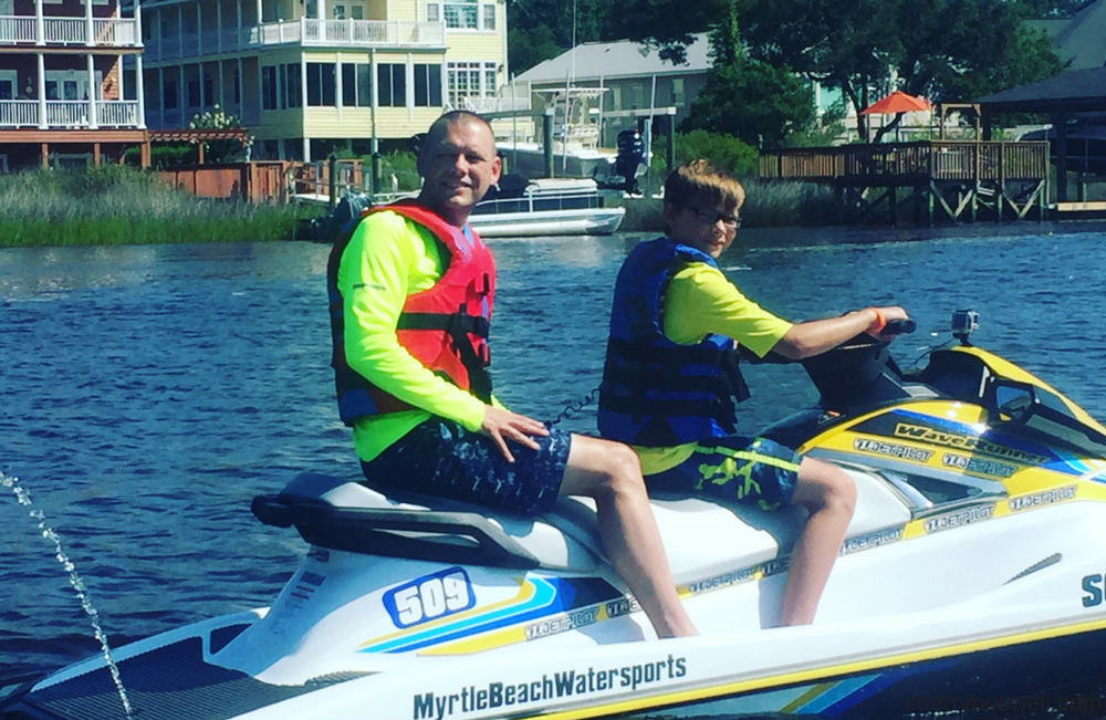 jet skis at Myrtle Beach