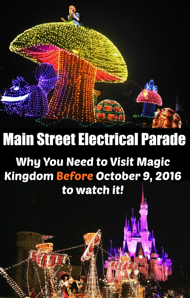 Main Street Electrical Parade pin