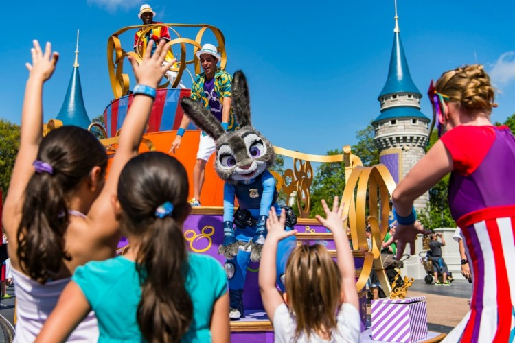 Move it! Shake it! Parade - a fun parade at Walt Disney World and a must-see at least once.