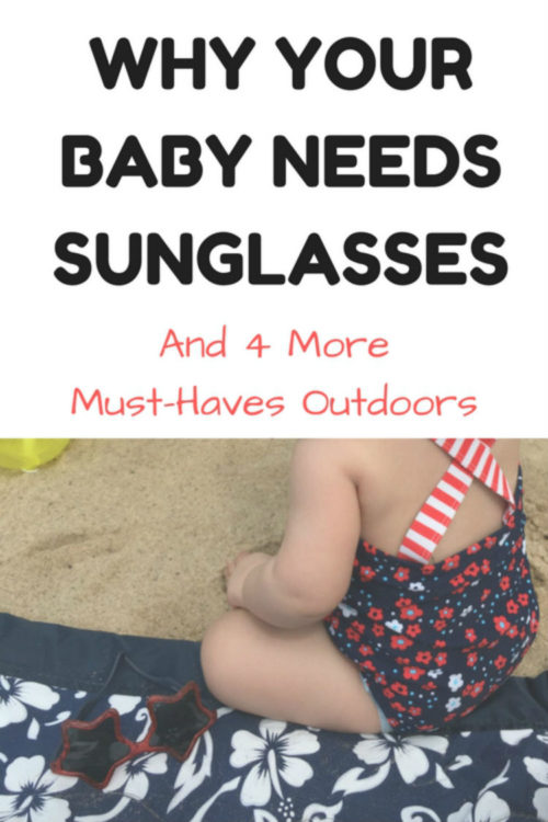 Pinnable image of baby sunglasses article