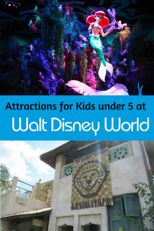 attractions at disney