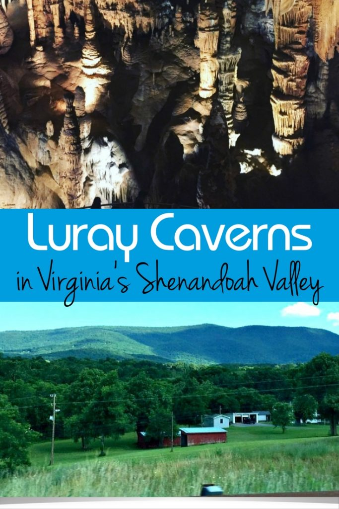 Luray Caverns in Virginia's Shenandoah Valley is the perfect fall family travel destination. Don't forget to bring your dogs, too, because small fur babies are welcome inside the caverns.